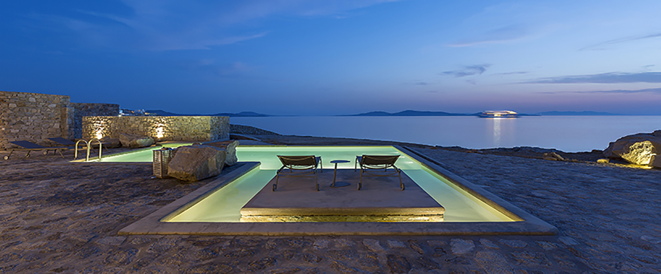 cycladic architecture, minimal design