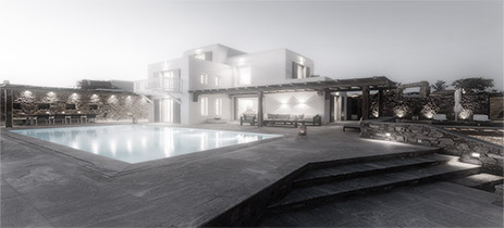 Division architects: Residence in Mykonos IV